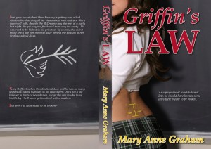Click to view the full-sized paperback cover of <i>Dangerous Relations: Griffin's Law</i>.